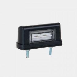 Osvetlenie ŠPZ - čierne - LED