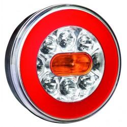 Združené LED svetlo - guľaté 12/24V