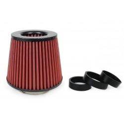 Športový vzduchový filter + 3 adaptéry (carbon)