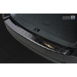 Ochranná nerezová lišta prahu piatych dverí (čierna) Octavia III Kombi Facelift 2016 -
