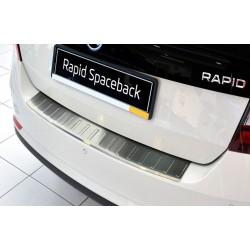 Ochranná nerezová lišta prahu piatych dverí Škoda Rapid Spaceback 2013 -