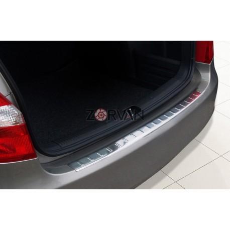 Ochranná nerezová lišta prahu piatych dverí Škoda Fabia II Combi 2007 - 2014