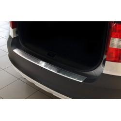 Ochranná nerezová lišta prahu piatych dverí Škoda YETI 2009 - 2013