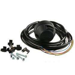 Univerzálna kabeláž ťažného zariadenia - plastová 7 pólová