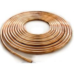 Brzdová medená trubka - 50m kotúč
