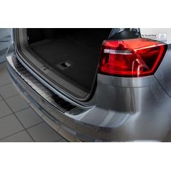 Ochranná nerezová lišta prahu piatych dverí (čierna) VW Golf VII Sportsvan 2014 -