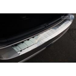 Ochranná nerezová lišta prahu piatych dverí VW Passat B7 Variant 2010 - 2014