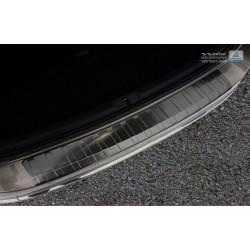 Ochranná nerezová lišta prahu piatych dverí (čierna) VW Passat B7 Variant 2010 - 2014