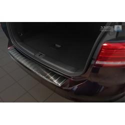 Ochranná nerezová lišta prahu piatych dverí (čierna) VW Passat B8 Variant 2014 -