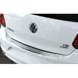 Ochranná nerezová lišta prahu piatych dverí VW Polo V Facelift 2014 -