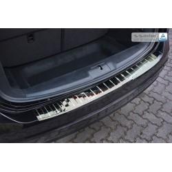 Ochranná nerezová lišta prahu piatych dverí (lesklá) VW Sharan 2010 -