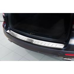 Ochranná nerezová lišta prahu piatych dverí VW Touareg 2007 - 2010