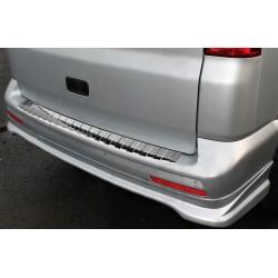 Ochranná nerezová lišta prahu piatych dverí VW Transporter T5 2003 - 2015