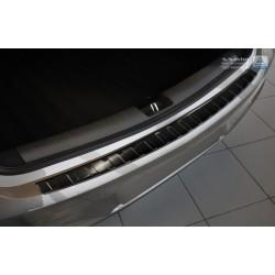 Ochranná nerezová lišta prahu piatych dverí (čierna) Opel Astra K 2015 -