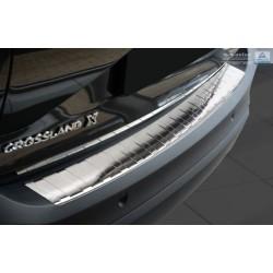 Ochranná nerezová lišta prahu piatych dverí Opel Crossland X 2017 -