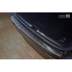 Ochranná nerezová lišta prahu piatych dverí (čierna) Volvo V90 2016 -