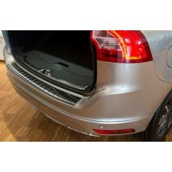 Ochranná nerezová lišta prahu piatych dverí (čierna) Volvo XC60 2013 - 2017
