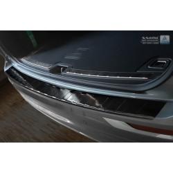 Ochranná nerezová lišta prahu piatych dverí (čierna) Volvo XC60 II 2017 -