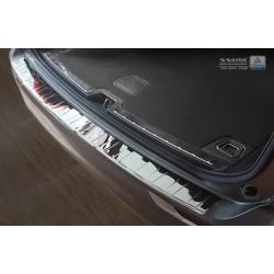 Ochranná nerezová lišta prahu piatych dverí (lesklá) Volvo XC60 II 2017 -