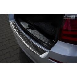 Ochranná nerezová lišta prahu piatych dverí (čierna) BMW 5 F11 Touring 2010 -