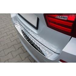 Ochranná nerezová lišta prahu piatych dverí (lesklá) BMW 5 F11 Touring 2010 -