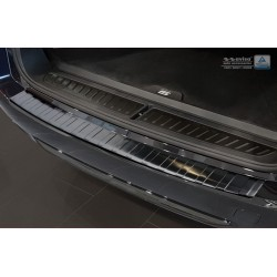 Ochranná nerezová lišta prahu piatych dverí (čierna) BMW 5 G31 Touring 2017 -