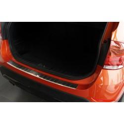 Ochranná nerezová lišta prahu piatych dverí BMW X1 E84 2009 - 2012