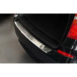 Ochranná nerezová lišta prahu piatych dverí BMW X3 F25  2010 - 2014