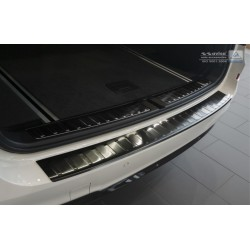 Ochranná nerezová lišta prahu piatych dverí (čierna) BMW X3 F25  2014 -