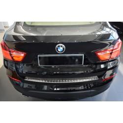 Ochranná nerezová lišta prahu piatych dverí BMW X4 F26  2014 -