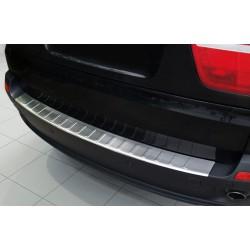 Ochranná nerezová lišta prahu piatych dverí BMW X5 E70  2007 - 2011