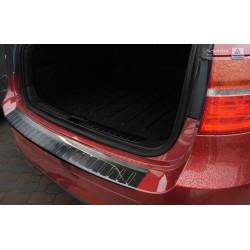 Ochranná nerezová lišta prahu piatych dverí BMW X6 E71  2009 - 2014