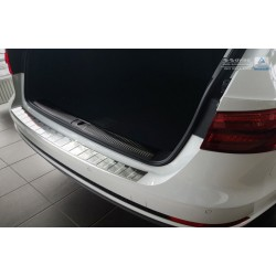 Ochranná nerezová lišta prahu piatych dverí Audi A4 B9 Avant 2015 -