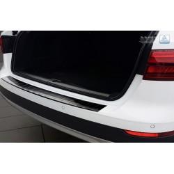 Ochranná nerezová lišta prahu piatych dverí (čierna) Audi A4 B9 Allroad 2016 -