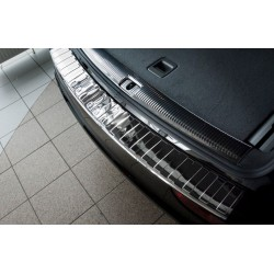 Ochranná nerezová lišta prahu piatych dverí (lesklý) Audi Q5 2008 - 2016