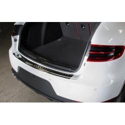 Ochranná nerezová lišta prahu piatych dverí (čierna) Porsche Macan 2014 -