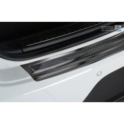 Ochranná nerezová lišta prahu piatych dverí (čierna / čierny carbon) Porsche Macan 2014 -