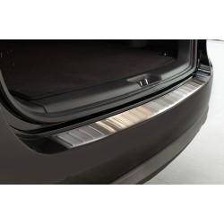 Ochranná nerezová lišta prahu piatych dverí Hyundai Santa Fe 2010 - 2012