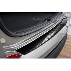Ochranná nerezová lišta prahu piatych dverí (čierna) Hyundai Tucson 2015 -