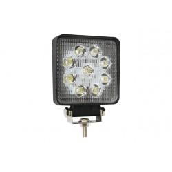 LED pracovné svetlo - hranaté