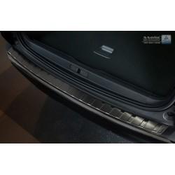 Ochranná nerezová lišta prahu piatych dverí (čierna) Peugeot 3008 II 2016 -