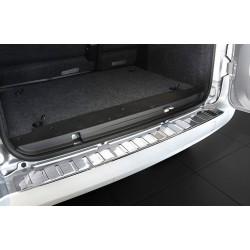 Ochranná nerezová lišta prahu piatych dverí Peugeot Bipper 2007 -