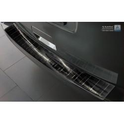 Ochranná nerezová lišta prahu piatych dverí (čierna) Peugeot Traveller 2016 -