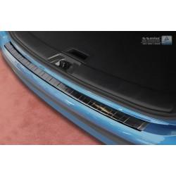 Ochranná nerezová lišta prahu piatych dverí (čierna) Nissan Qashqai II 2017 -