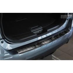 Ochranná nerezová lišta prahu piatych dverí (čierna) Nissan X-Trail III 2013 -
