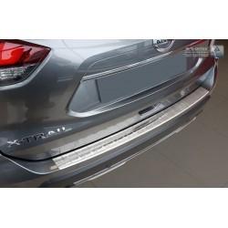 Ochranná nerezová lišta prahu piatych dverí Nissan X-Trail III 2017 -