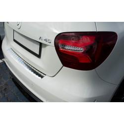 Ochranná nerezová lišta prahu piatych dverí Mercedes A-Class W176 AMG 2015 -