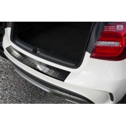 Ochranná nerezová lišta prahu piatych dverí (čierna) Mercedes GLA-CLASS 2013 -