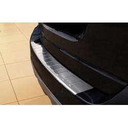 Ochranná nerezová lišta prahu piatych dverí Mercedes ML W164 2008 - 2011