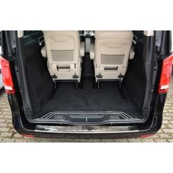 Ochranná nerezová lišta prahu piatych dverí Mercedes V-Class W447/Vito III 2014 -